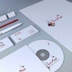 citywork designed Ad agency stationery & branding