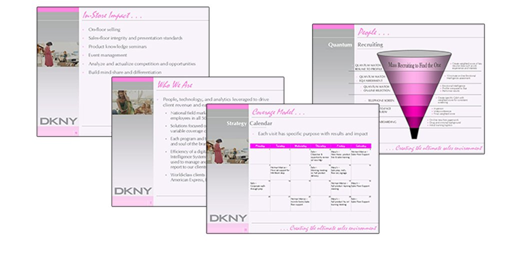 PowerPoint for Merchandiser