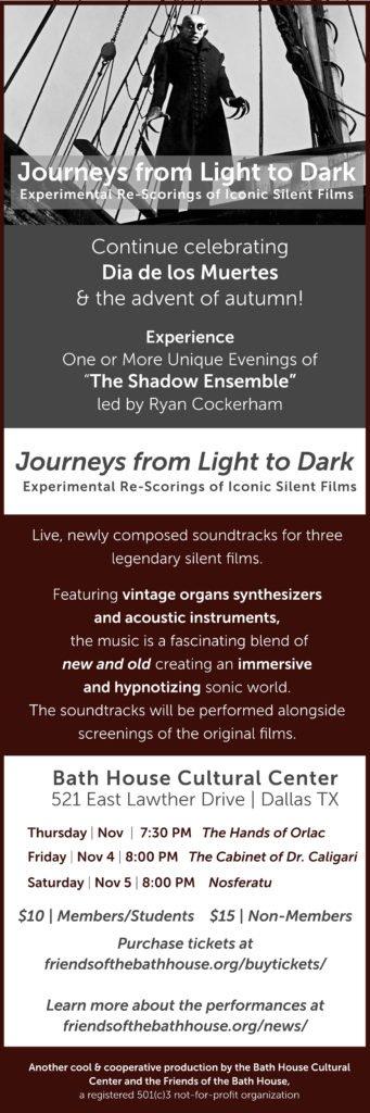 Journeys From Light to Dark